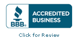 Sturtevant Transmission and Auto Repair is an Accredited Business with an A+ rating BBB seal